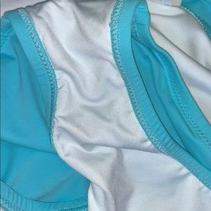 Lands' End Swim - NWTs LANDS END • Crystal Aqua Swim Bikini Skirt